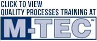 Quality Processes Training at M-TEC